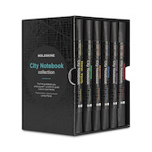 Moleskine Traveller's Collection City Pocket Notebooks Set of 6