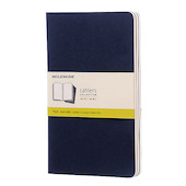 Moleskine Cahier Large Journal 135x210 Indigo Blue