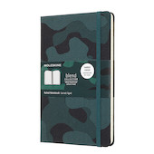 Moleskine Blend Collection Limited Edition Notebook Camouflage Green