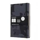 Moleskine Blend Collection Limited Edition Notebook Camouflage Black
