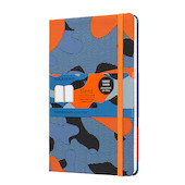 Moleskine Blend Collection Limited Edition Notebook Camouflage Orange