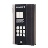 Moleskine Professional Notebook Hard Cover Large 135x210 Black