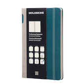 Moleskine Professional Notebook Hard Cover Large 135x210 Tide Green