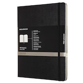 Moleskine Pro Notebook Hard Cover Extra Large 190x250 Black