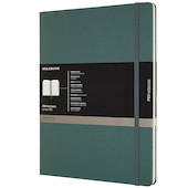 Moleskine Pro Notebook Hard Cover Extra Extra Large 216x279 Forest Green