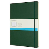 Moleskine Classic Collection Extra Large Notebook 190x250 Myrtle Green