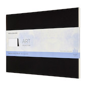 Moleskine Art Plus Watercolour Block 230x310 Notebook Black