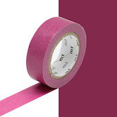 mt Washi Masking Tape - 15mm x 10m - Wine