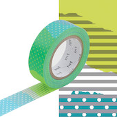 mt Washi Masking Tape - 15mm x 10m - Tsugihagi E