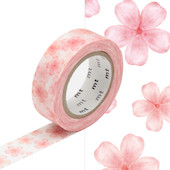 mt Washi Masking Tape EX - 15mm x 10m - Sakura