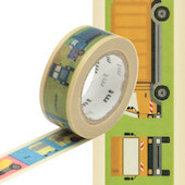 mt Washi Masking Tape 15mm x 7m Vehicle
