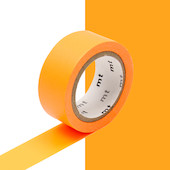 mt Washi Masking Tape 15mm x 5m Fluorescent Orange