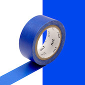 mt Washi Masking Tape 15mm x 5m Fluorescent Cyan