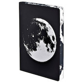 Nuuna Graphic L Recycled Leather Cover Notebook Moon