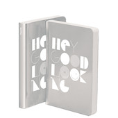Nuuna Graphic M Metallic Notebook Hey Good Looking