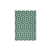 Ola Layflat Notebook A6 Massi Print Green Blank