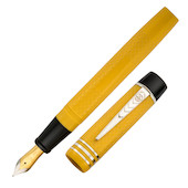 Onoto Magna Classic Fountain Pen Yellow Chased