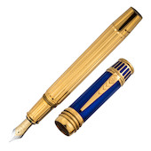 Onoto Nelson Fountain Pen Vermeil Limited Edition