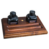 Onoto Walnut Pen & Ink Desk Tray