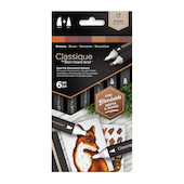 Spectrum Noir Classique Marker Set of 6 Browns