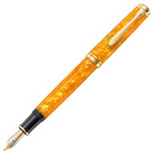 Pelikan Souveran M600 Fountain Pen Vibrant Orange Special Edition