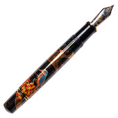 Pelikan Maki-e Fountain Pen Kingfisher