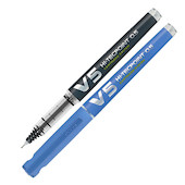 Pilot V5 Cartridge System Refillable Rollerball Pen with 3 FREE REFILLS