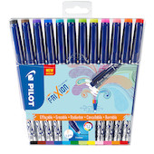 Pilot Frixion Erasable Fineliner Assorted Set of 12