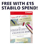 The Mindfulness Colouring Book (Emma Farrarons) Promotion