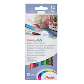 Pentel Watercolour Pencils Set of 12
