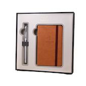 Parker Urban Fountain Pen Pearl and Notebook Gift Set