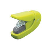 PLUS Staple-Free Hand Stapler Green