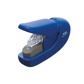 PLUS Staple-Free Hand Stapler Blue