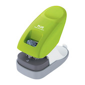 PLUS Staple-Free Desk Stapler Green