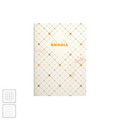 Rhodia Heritage Sewn Spine Notebook Quadrille A5
