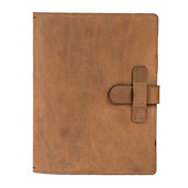 Cult Pens Ruitertassen Leather Notebook Cover A5 Ranger Brown
