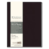 Strathmore 400 Toned Grey Mixed Media Art Journal Hardback 8.5x11