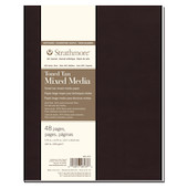 Strathmore 400 Toned Tan Mixed Media Art Journal Softcover 7.75x9.75