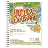 Strathmore Bristol Smooth Visual Journal 9x12