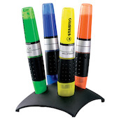 STABILO Luminator Highlighter Desk Set of 4