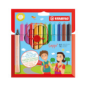 STABILO Cappi Colouring Pens Set of 12