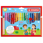 STABILO Cappi Colouring Pens Set of 18