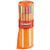 STABILO point 88 Fineliner Rollerset of 30 Colours
