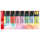 STABILO BOSS Pastel Highlighter Assorted Set of 8