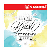 Stabilo Hand and Brush Lettering Guide