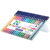 Staedtler Triplus Colour Pen Desktop Box of 20