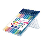 Staedtler Triplus Colour Pen Desktop Box of 10