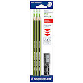 Staedtler Noris Pencil Set with Sharpener and Eraser