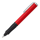 Sheaffer Award Ballpoint Pen Matt Red with Chrome Trim