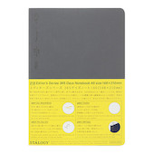 Stalogy 365Days Notebook A5 Dark Grey